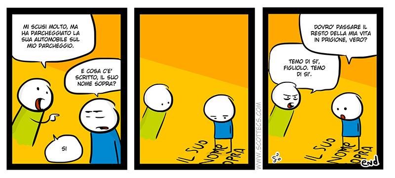 Scottecs Comics - Parcheggio privato  http://bit.ly/tV96kX