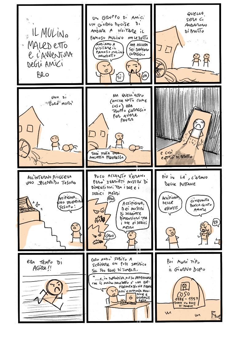 Scottecs Comics - FSSICPDFDM – Il Mulino Maledetto e l'Avventura degli Amici Bro  http://bit.ly/zhZnoj