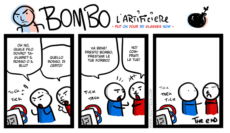 BOMBO L'Artificiere -in 3D!- http://bit.ly/xNE7gQ