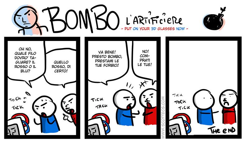 BOMBO L'Artificiere -in 3D!-  http://bit.ly/xNE7gQ
