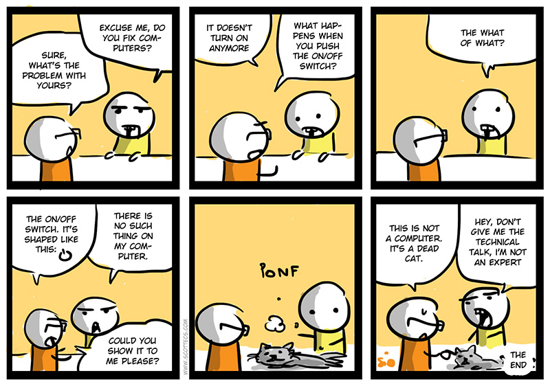 New English Comic! In Technical Terms from  http://bit.ly/L1dneA