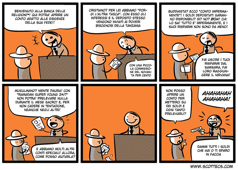 La banca delle religioni  http://bit.ly/JwxwT7