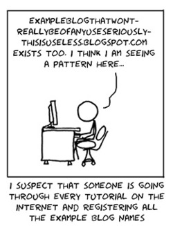 Xkcd is always awesome