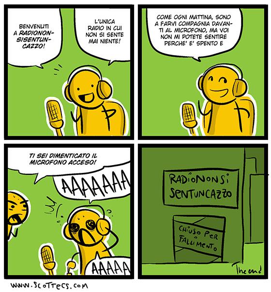 Radio Nonsisenteuncazzo 108.8 FM  http://bit.ly/OgWYlA