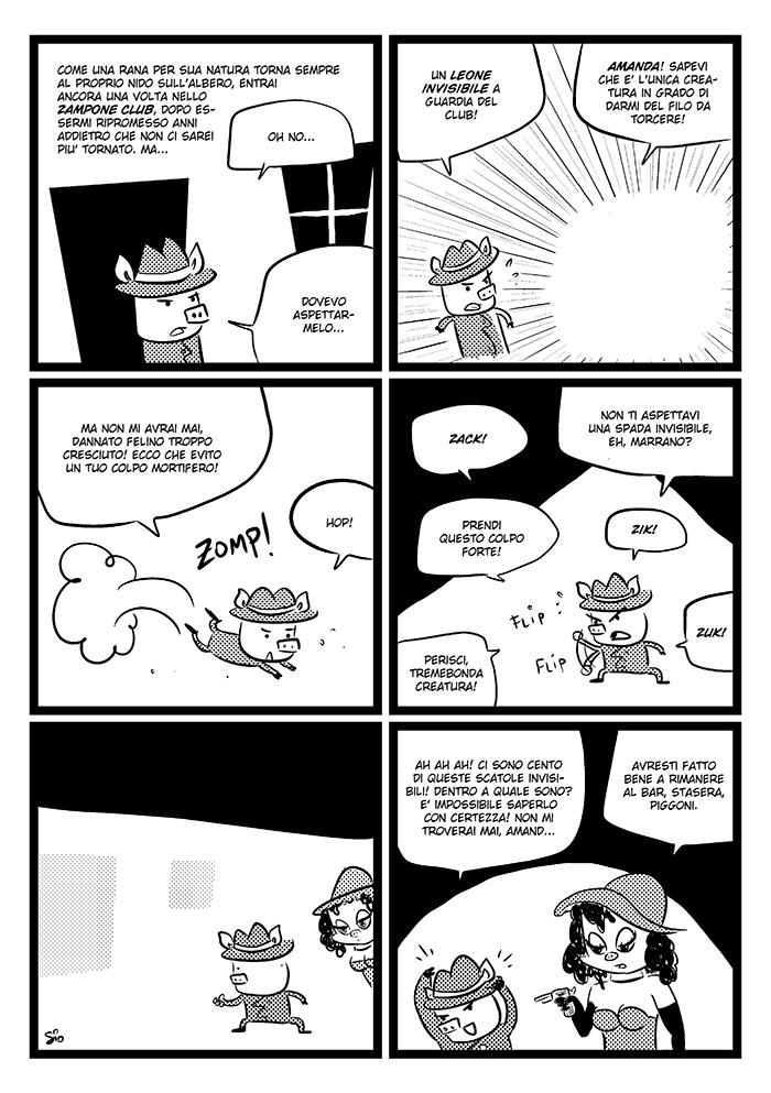 Continuano le avventure dell'ispettor Piggoni su  i Treccani !  Qua lo potete leggere dall'inizio.