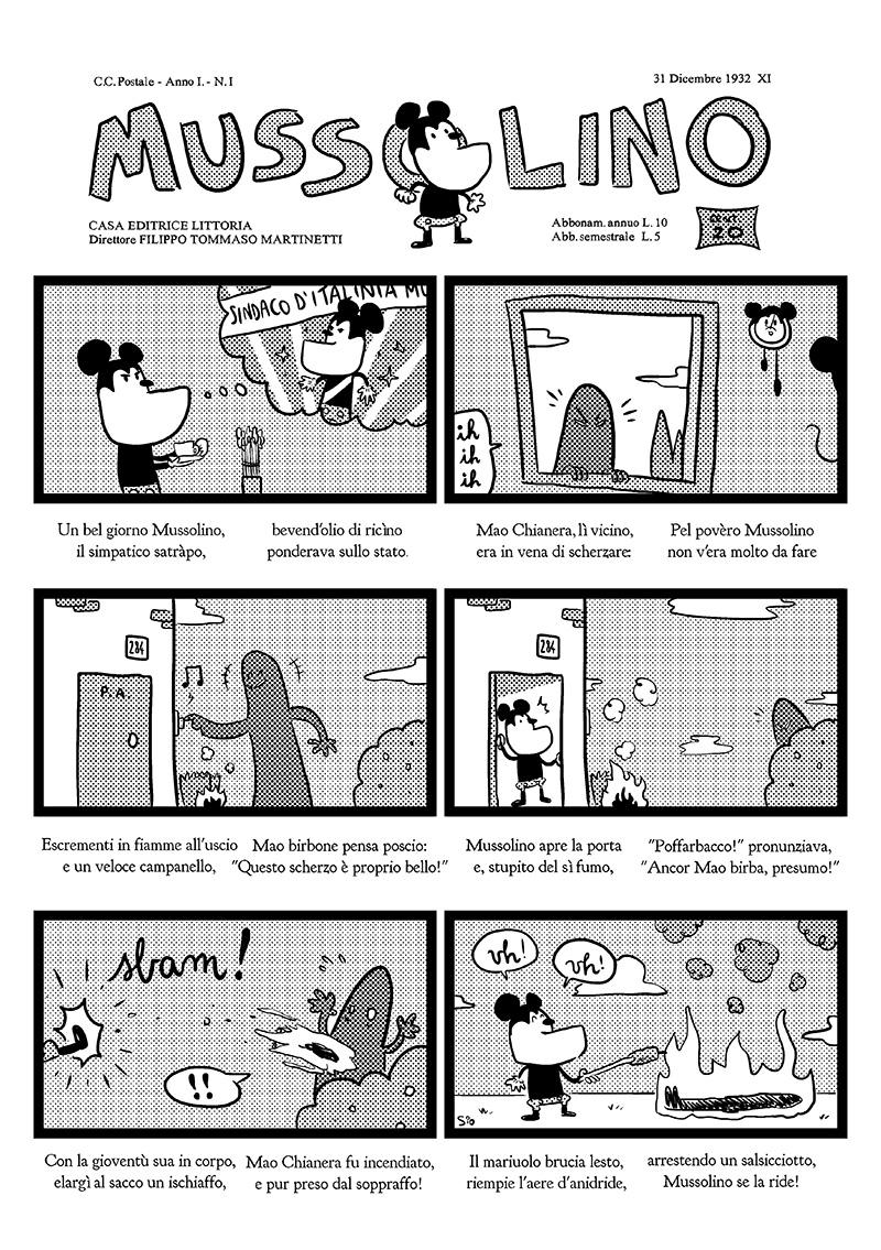 MVSSOLINO, il settimanale Disney per grandi e piccini! Da  i Treccani