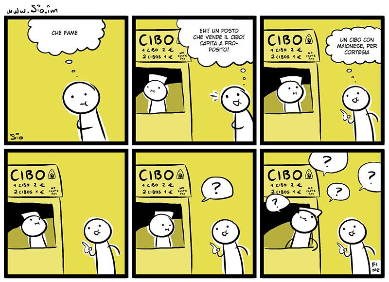 Quell'improvvisa fame di cibo, dal mio blog di Shockdom  http://www.shockdom.com/webcomics/scottecscomics/quellimprovvisa-fame-di-cibo/
