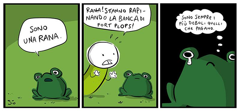 La rana sensibile, dal mio blog di Shockdom http://ift.tt/1dVoX6T