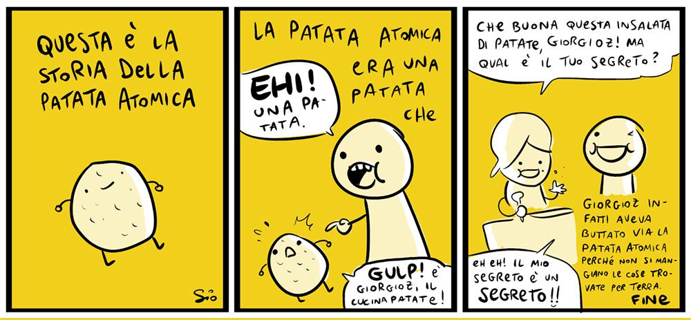 La Patatatomica, dal mio blog di Shockdom http://ift.tt/1ox4zeK
