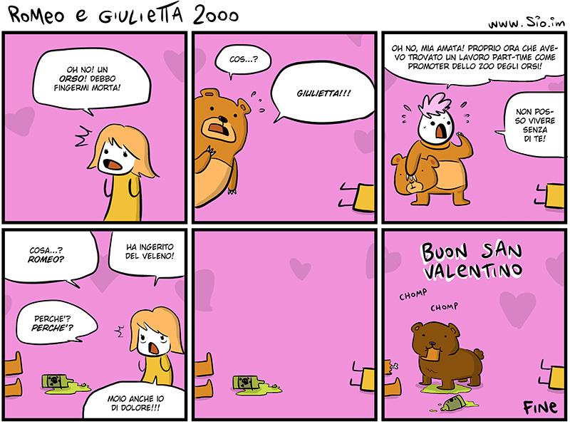 Romeo e Giulietta e l'avventura nella gabbia degli orsi, dal mio blog di Shockdom  http://ift.tt/1heCR8s