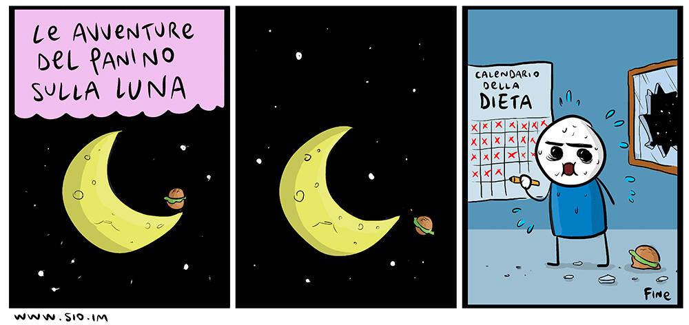 Il panino sulla luna, dal mio blog di Shockdom  http://ift.tt/1ilL3SD