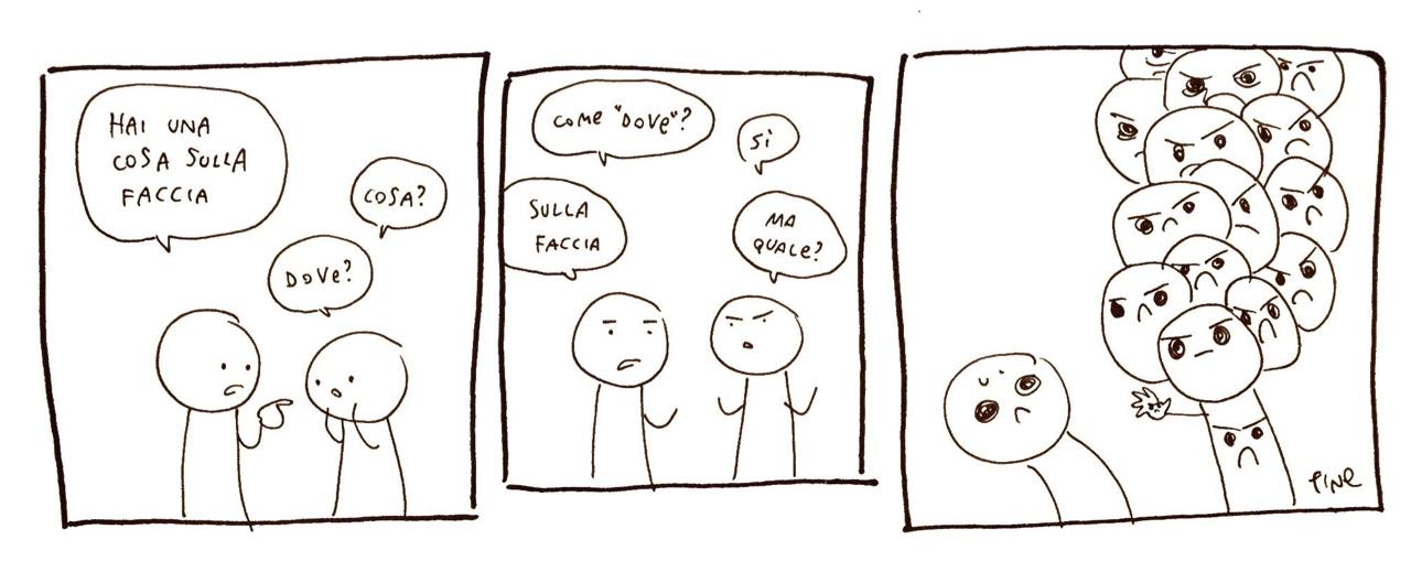 Ho trovato questo fumetto per terra