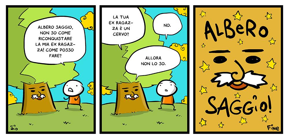 Albero Saggio Amorematic, dal mio blog di Shockdom  http://ift.tt/1uMDpEB