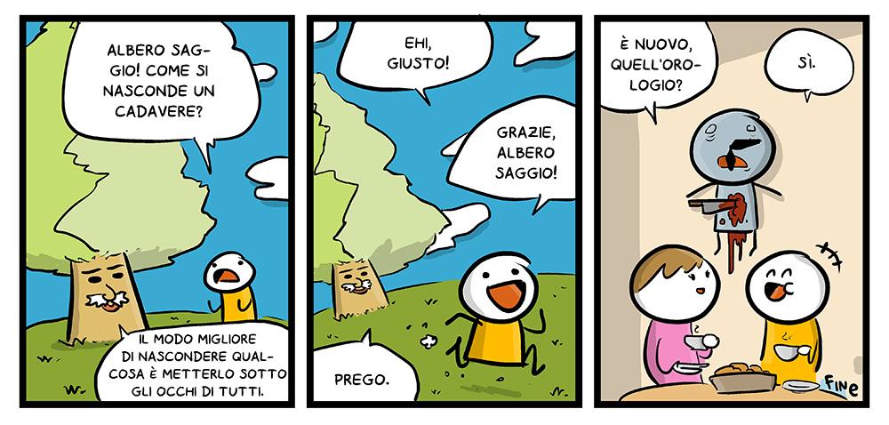 Come nascondere un cadavere, by L'Albero Saggio, dal mio blog di Shockdom  http://ift.tt/1CfzR0l
