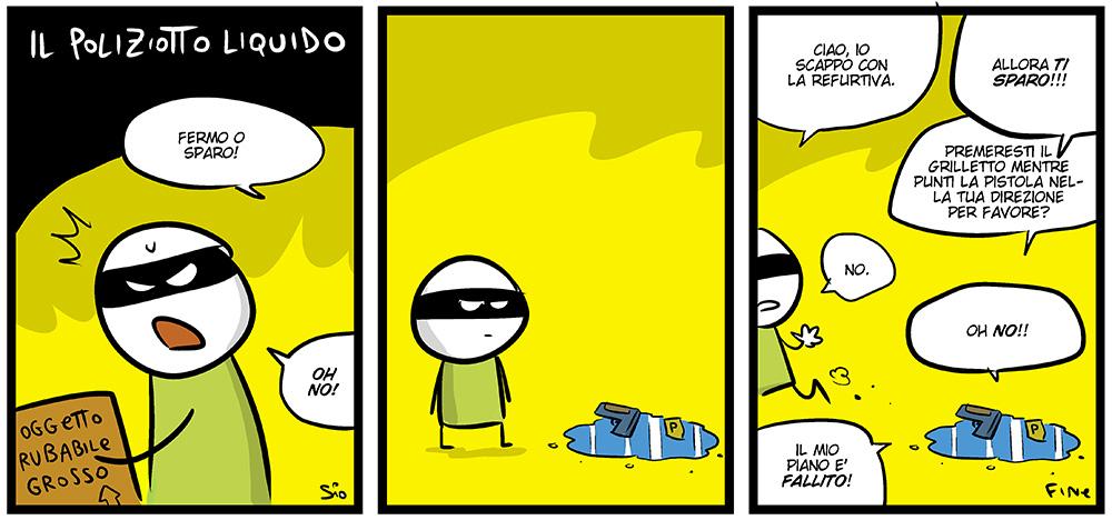 Il poliziotto liquido, dal mio blog di Shockdom  http://ift.tt/1kgfRCA