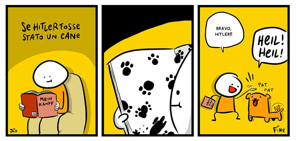 Se Hitler fosse stato un cane, dal mio blog di Shockdom  http://ift.tt/1tMPEVS