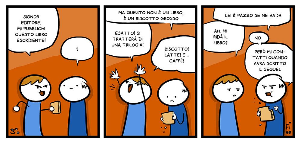 100 – L'editore rigidissimo, dal mio blog di Shockdom  http://ift.tt/1vrgpOB