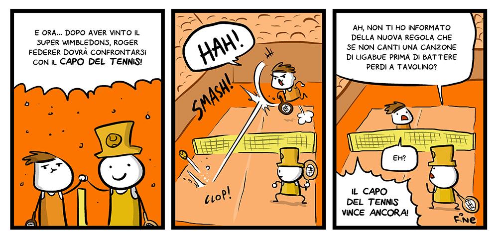 102 – Il Capo del tennis, dal mio blog di Shockdom  http://www.shockdom.com/webcomics/scottecscomics/102-il-capo-del-tennis-2/
