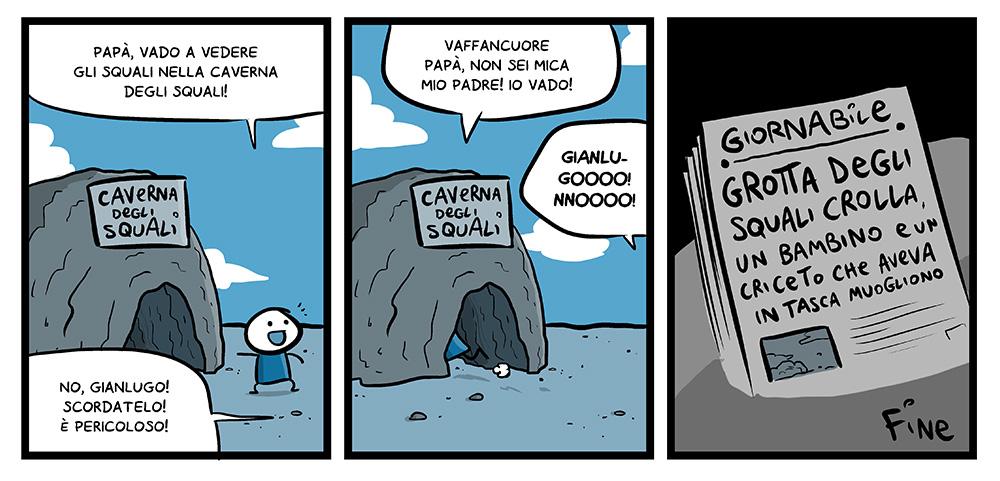 111 – La grotta degli squali, dal mio blog di Shockdom  http://ift.tt/1vHazJg