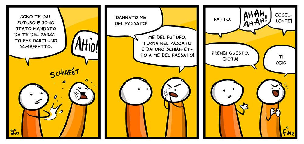113 – Schiaffetto al futuro, dal mio blog di Shockdom http://ift.tt/168LxJs