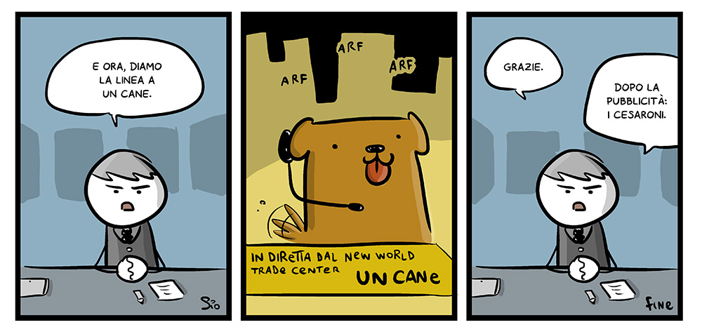 120 – Diamo la linea a un cane, dal mio blog di Shockdom http://ift.tt/1yZW80b