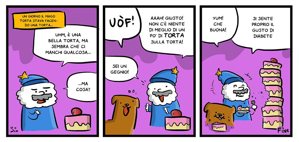 121 – Il Mago Torta, dal mio blog di Shockdom  http://ift.tt/1w4GTkw