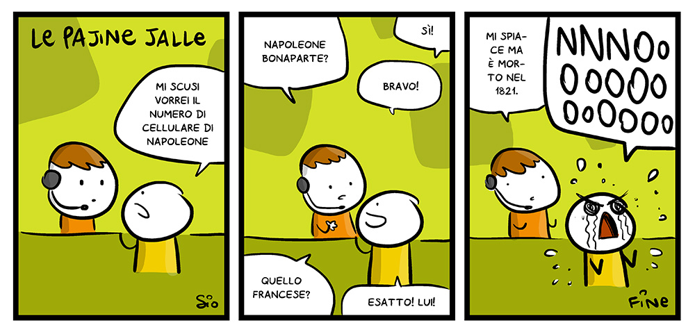 116 – Pagine Gialle, dal mio blog di Shockdom  http://www.shockdom.com/webcomics/scottecscomics/116-pagine-gialle/