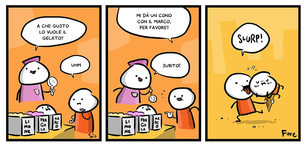 145 – Cono con il gelato, dal mio blog di Shockdom  http://ift.tt/1CW0ATw