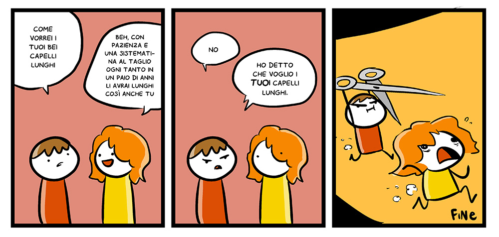 142 – Capelli belli, dal mio blog di Shockdom  http://ift.tt/1y3WXoR