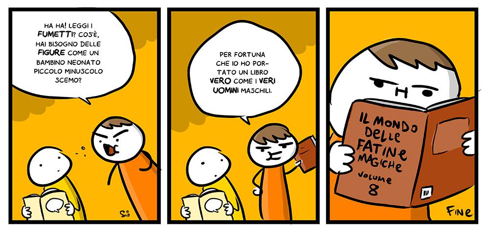 148 – I fumetti sono roba da sciemi, dal mio blog di Shockdom  http://ift.tt/1yyzlsU