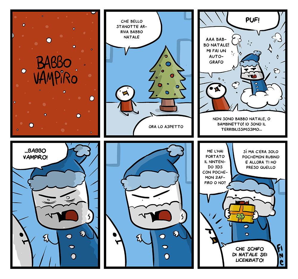 152 – Babbo Vampiro, dal mio blog di Shockdom  http://ift.tt/1DL3iZX