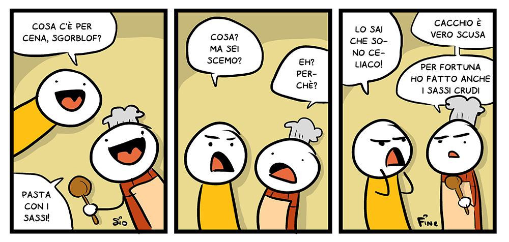 Cena per celiaci, dal mio blog di Shockdom  http://ift.tt/1vCA2nL