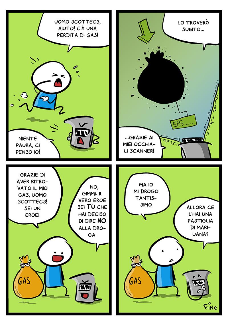 Perdita di Gas, dal mio blog di Shockdom  http://ift.tt/1tlLrru
