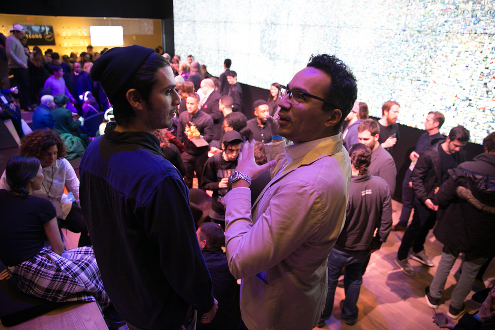 Versions VR conference (in partnership with Kill Screen) after party held at Samsung 837‎