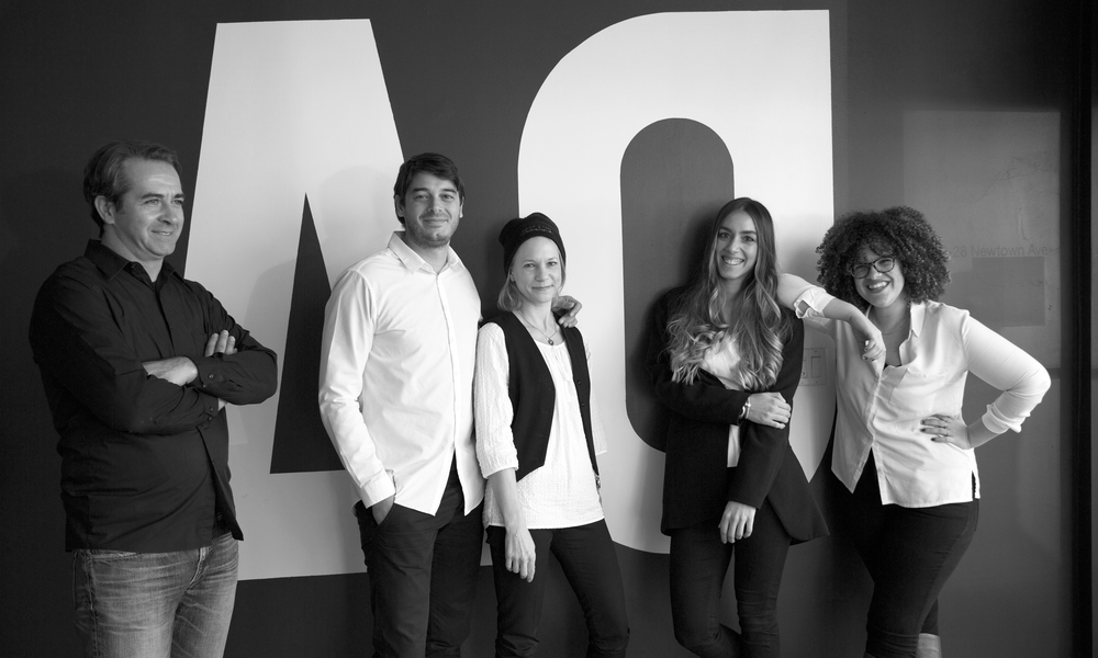 Jonus Ademovic, AO Partner; Christos Athanassiou, AO Partner; Korina Warme-Evangelinos; Roi ioannou; Vasiliki Zannettis, A2 Partner
