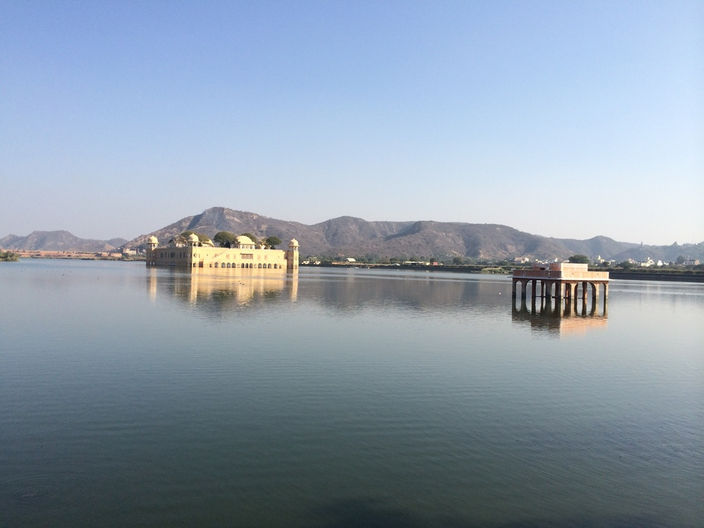Jal Mahal, the palace on the lake, Jaipur