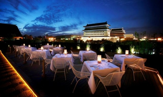 M Capital Rooftop Bar; Beijing
