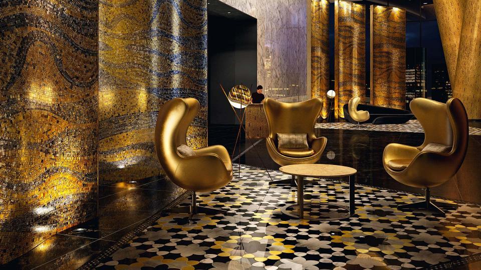 Hotel Lobby in Shanghai