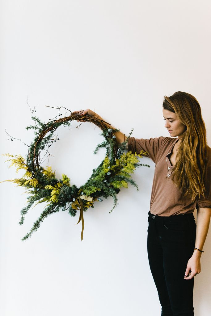 Taylor Patterson + Fox Fodder Farm's wreath
