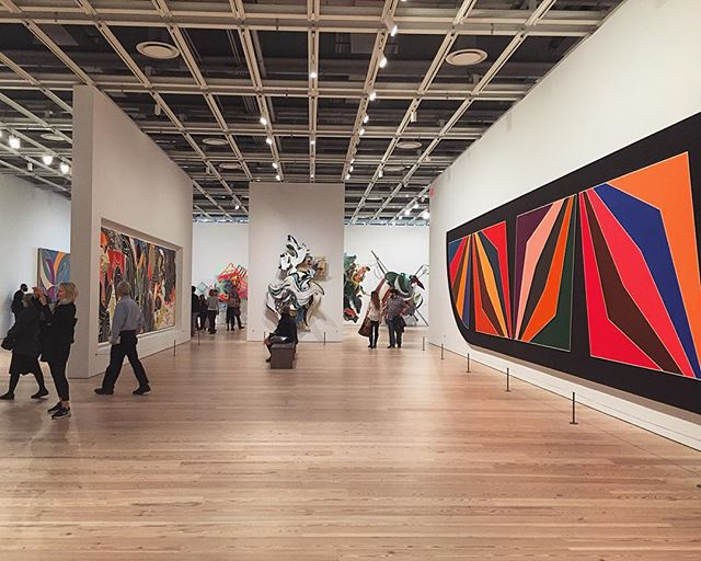 An afternoon with Frank Stella. Guest blogger @marvmarv00 shares her day at the Whitney. Link in bio. #Whitney #frankstella #art #design #museum #nyc #meatpacking #blog #guestblogger #weheartart