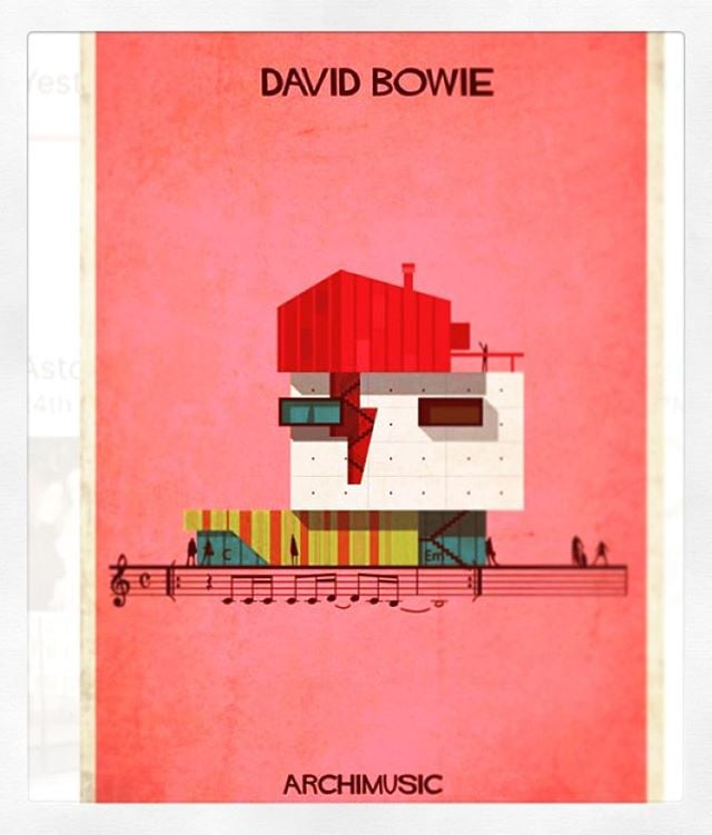 Talking about art is like dancing about architecture. #Bowie #archimusic #federicobabina #inspirationalmonday