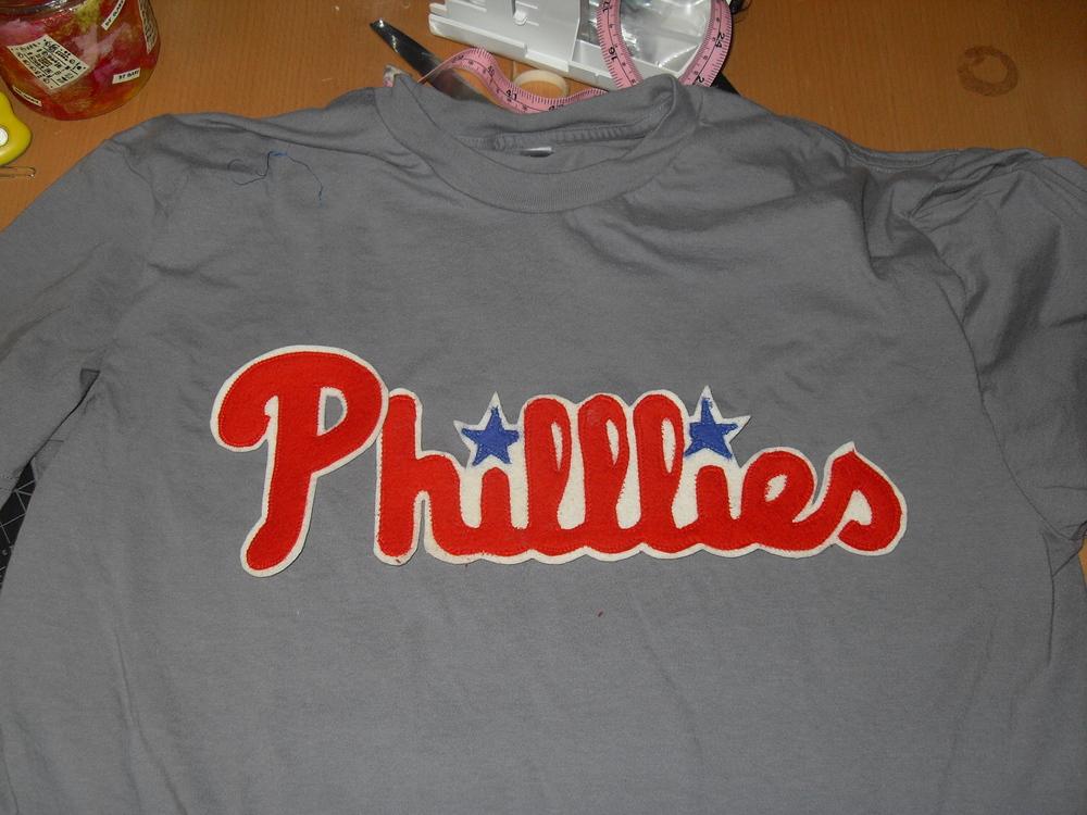 "Philadelphia ""Philllies"" DIY Jersey"