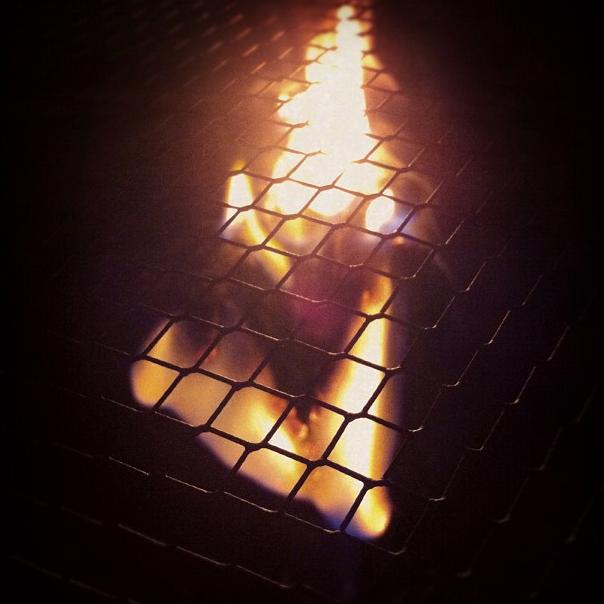 Heart 9 - Fire