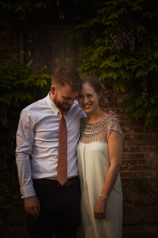 Sussex Church Barn Boho Chic Wedding UK