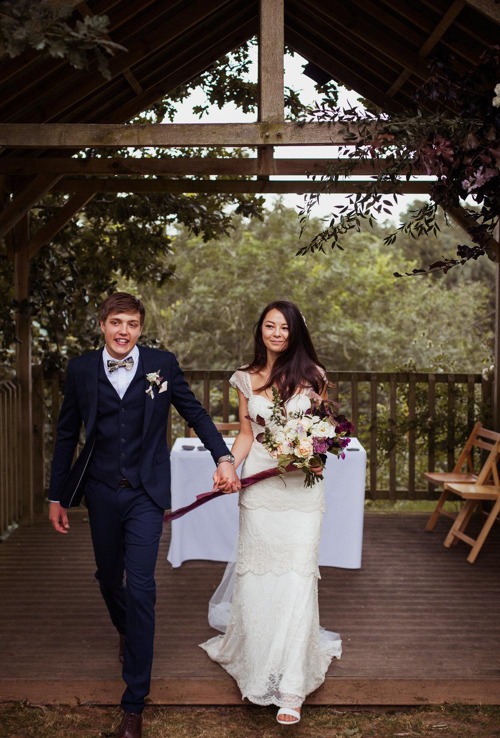 Cornwall Outdoor DIY Boho Wedding The Green Wed Magazine