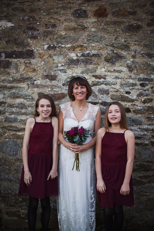 Wales Runaway Elopement Wedding Pembrokeshire Winter
