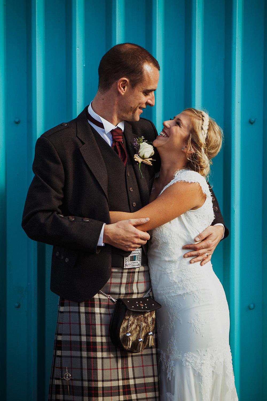 Highlands Outdoor Farm Barn DIY Wedding Scotland Inverness