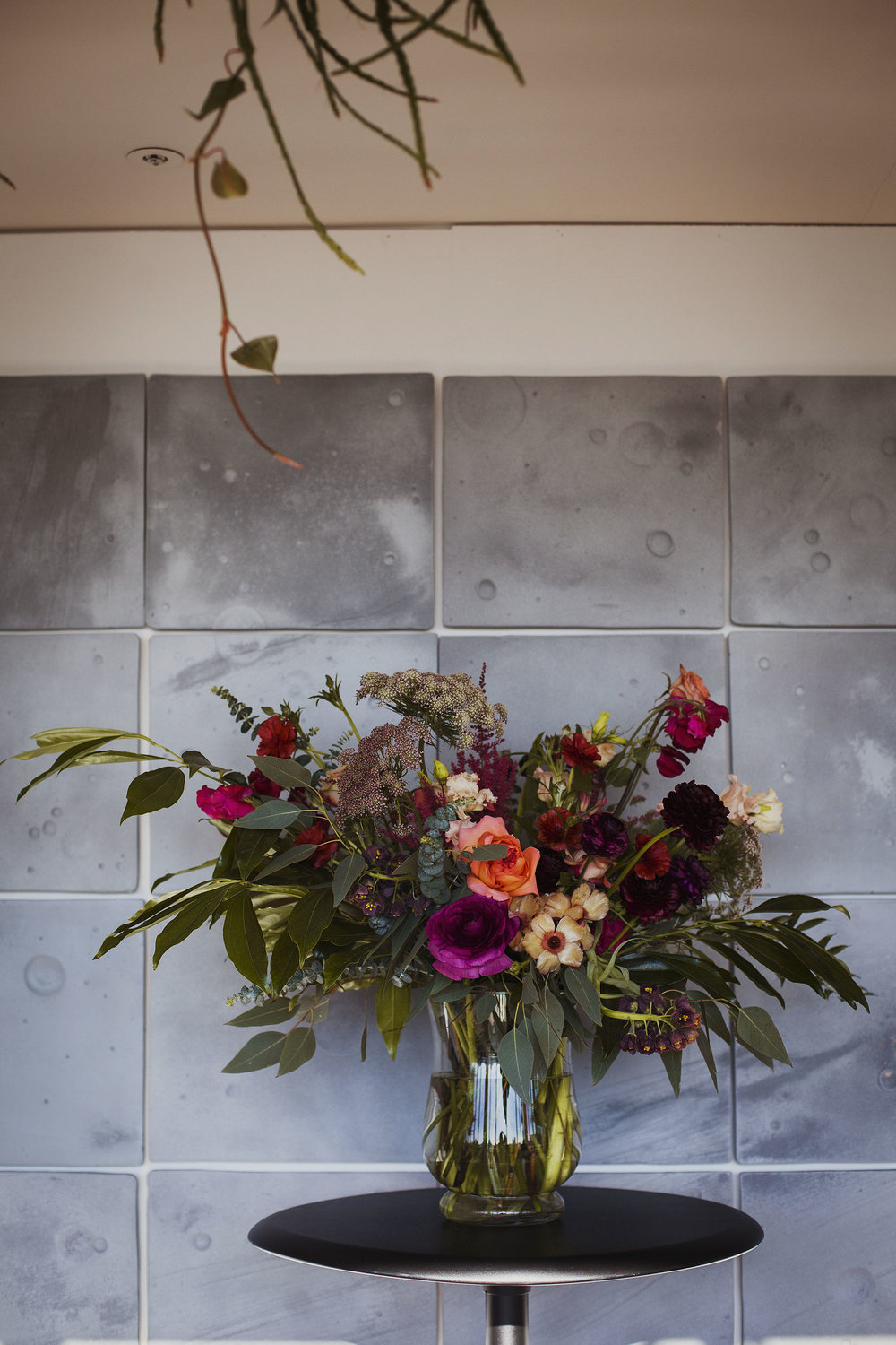wedding flowers at the ace hotel london
