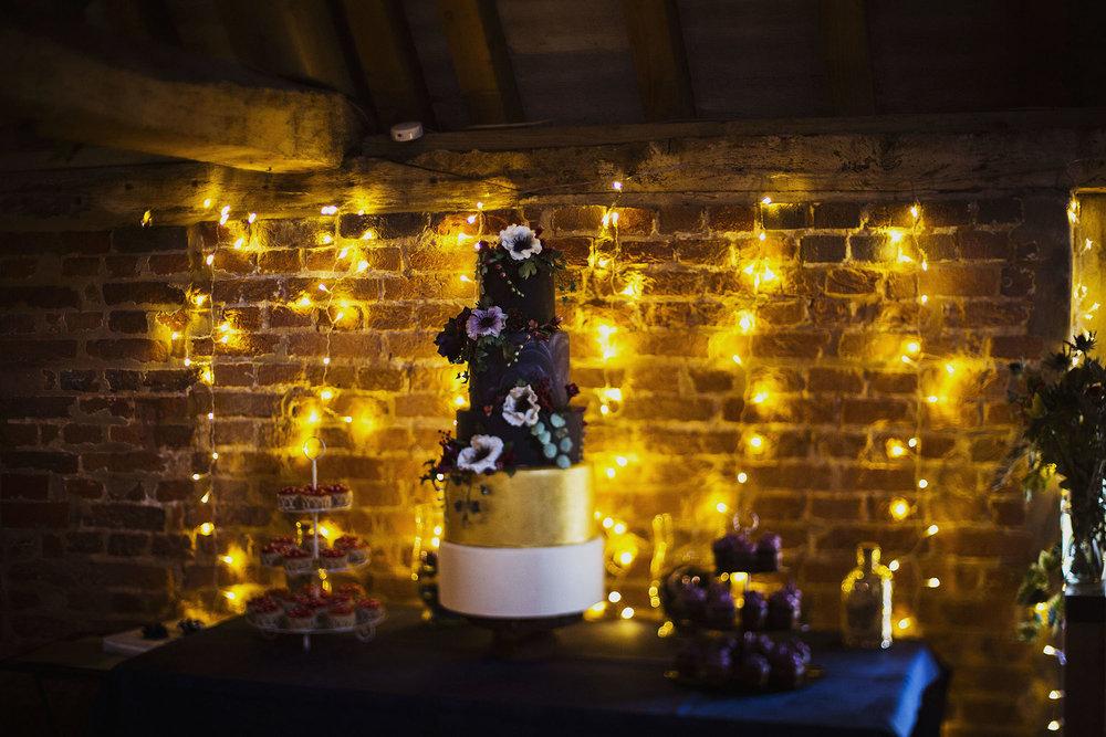 alternative wedding cake by haute cakes london
