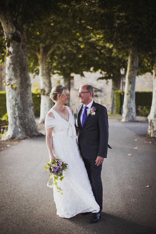 bride and groom portrait france destination wedding